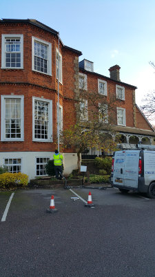 Gutter cleaning in Faversham